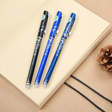 10Set 12 Pcs/Set Erasable Gel Pen Magic Neutral Pen Roller Ball Pen 0.5mm Student Stationery Office School Supplies Wholesale(China)