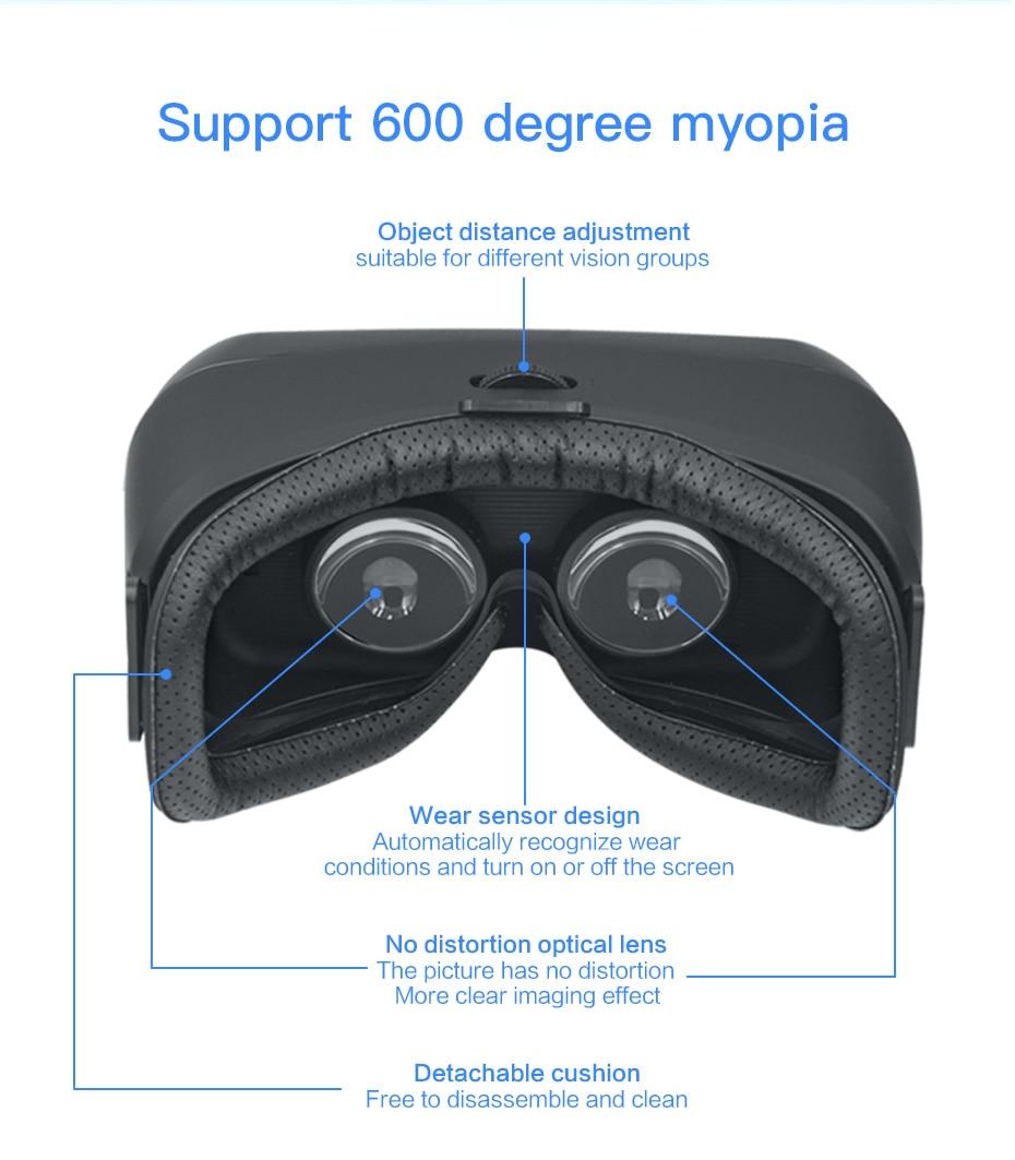 vr glasses virtual reality for pc vr glasses ps4 vr glasses hdmi vr glasses all in one VM05_11