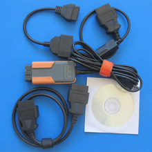 for toyota mvci for honda hds for volvo 3 in 1 diagnostic tool usb interface all cables software newest V10.10.028