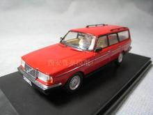 Premiumx 1:43  Volvo 240 Polar   car model alloy model classic old models
