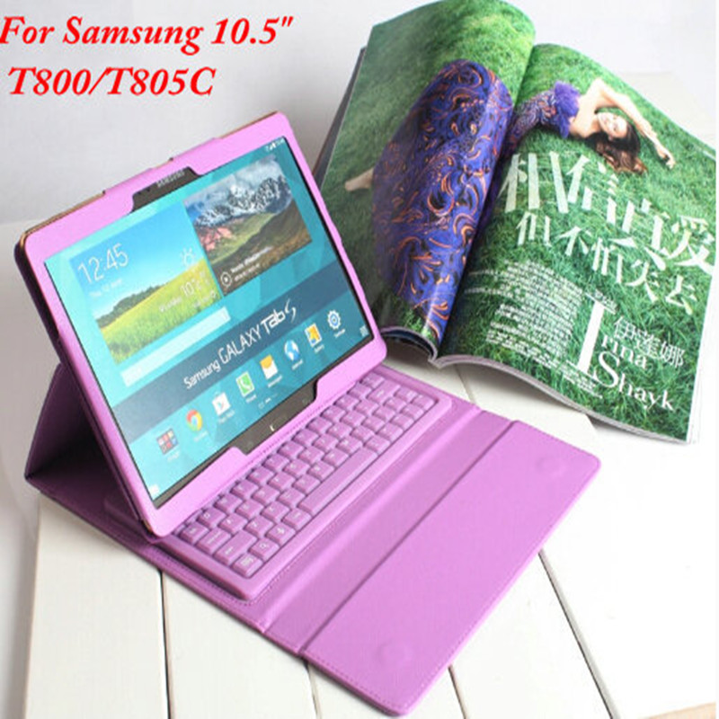 Best Quality Silicon Wireless Bluetooth Keyboard Case With Stand Back Cover Case For Samsung Galaxy Tab S 10.5 T800 T805C<br><br>Aliexpress