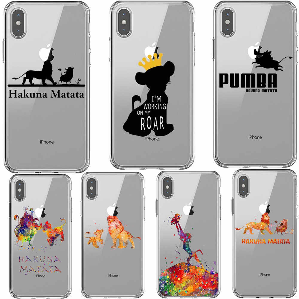 white marble lion king iphone case
