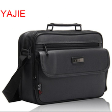 YAJIE 11-16 Inch Men Bag Fashion Mens Shoulder Bags High Quality Oxford Casual Messenger Bag Business Men's Travel Bags Y037(China)