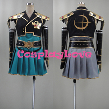 New Custom Made Japanese Game Samurai Warriors Chronicles 3 Sengoku Musou Female Protagonist Cosplay Costume