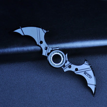 Batman Symbol  Anime Ninja NarutoWeapon Fidget Hand Spinner Figure Model Toys