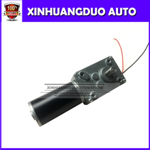 Hot ! 12V/ 35rpm Worm gear motors,  DC motors long tail shaft, the motor can be mounted encoder