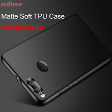 REDTREE High Quality Case for Xiaomi Mi a1 Mi5X Luxury Full Cover Matte Case for Xiaomi a1 mi 5X Soft TPU Shockproof Back Capa