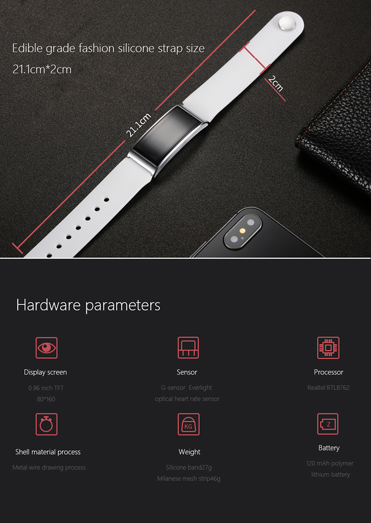 Microwear X3 IP68 Waterproof smart fitness bracelet pedometer blood pressure smart wristband Android iOS fitness tracker 26