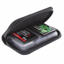 Brand New & High Quality Memory Card Storage Carrying Case Holder Wallet For CF/SD/SDHC/MS/DS Container