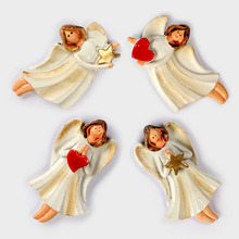 Creative Stereo Angel Fridge Magnet Resin Refrigerator Stickers 4*7cm Home Decoration