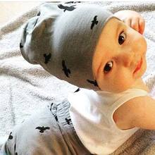 0-36 Months Baby Hat Cotton Beanie Cap Toddler Infant Baby Girls and Boys Knitted Hats Kids Hats & Caps Autumn Winter Baby Cap(China)