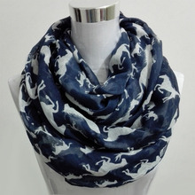 2017 New four reason popular Scarf Women Shawl Voile Cotton big small horse infinity Scarves Womens loop Scarfs lady neckerchief