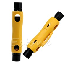 Speedy Coax Coaxial Cable Cutter Stripper Tool  For RG6 RG59 RG7 RG11 Cat5/6e