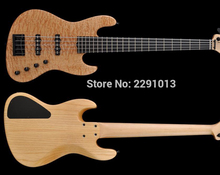 BEST 4 strings and 5 strings sadowsky bass guitar with Flame Maple;Ebony fretboard;Wilkinson tuners;Free shipping