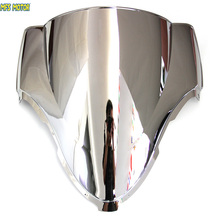 Motorcycle Part Silver Windshield/Windscreen For Suzuki Hayabusa GSXR 1300 1999-2007 99 00 01 02 03 04 05 06 07(China)