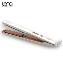 Lena LN-508 110-220V Professioanl Ion Curling Iron Ceramic Curler Hair Styler Straightener Flat Iron Ionic Straightening Irons(China)
