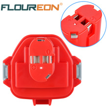 For Makita 12V 2000mAh Ni-CD FLOUREON Rechargeable Battery Power Tools Bateria for Mak Drill PA12 1220 1222 1235 1233S 1233SB