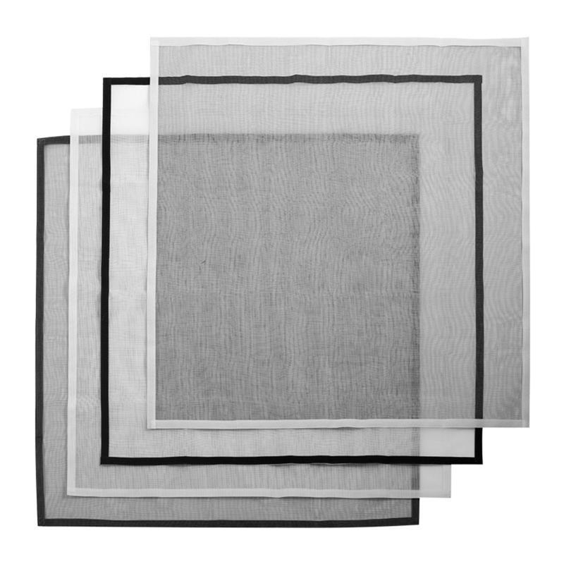 200x150 cm 1 UNIDS Pantalla de Ventana de Malla de Malla de Malla de Insectos de Mosquito de Red de Color Blanco