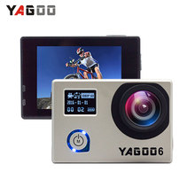 Yagoo6 Waterproof Action Camera Full Ultra HD 1080P /30 fps 14MP Wifi 2.0inch Screen Sports DV Camera Motorcycle Go Bicycle Pro(China)