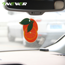 Onever 7PCS Different Scent Hanging Paper Car Perfume Lasting Fragrance Car Air Freshener for Home Boat Vehicle(China)