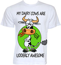MENS FUNNY COOL NOVELTY JOKE FARMER FARMING COW T-SHIRTS RUDE SLOGAN GIFTS IDEAS New 2017 Hot Summer Casual T Shirt Printing