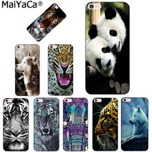 Buy MaiYaCa Tiger Elephant Wolf Cartoon New Arrival Phone Ultrathin Case Apple iPhone 8 7 6 6S Plus X 5 5S SE 5C Cover for $1.45 in AliExpress store