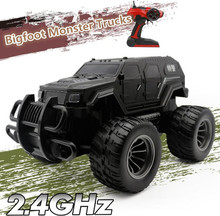 Buy Hot sell Senior Rc Monster Trucks 23712B 1:12 4CH regimental police bigfoot Race Monster RC Truck Road Electronic RC Toys for $104.00 in AliExpress store