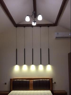 Dimmable Pendant Lights Modern Kitchen Lamp Dining Room Bar Counter Shop Pipe Pendant Down LED Lights Kitchen Spot Light 3cm (9)