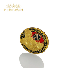 Best Price America 1944 Guard of Honor coin High Quality Airbone Division D.Day Gold Plated Coin Challenge Coin