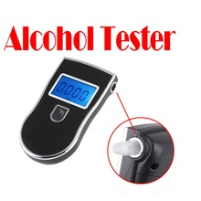 by dhl or ems 20 pieces High Quality Prefessional Digital Breath Alcohol Tester Breathalyser Free Shipping(China)