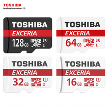 TOSHIBA U3 Memory Card 128GB 64GB SDXC Max UP 90MB/s Micro SD Card SDHC-I 32GB 16G U1 Class10 With Adapter Official Verification(China)