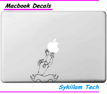 Fairy Tail Man Cartoon Sticker for Apple Macbook Skin Air 11 13 Pro 13 15 17 Retina Laptop Auto Wall Vinyl Logo Decal