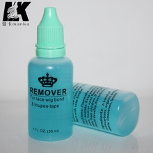 2 Bottles of Adhesive Tape Remover for Tape/ Skin Weft Hair Extension Remover for Lace wig Glue 30mL/bottle