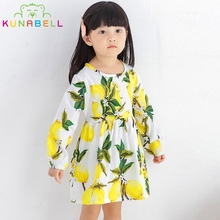 Summer Brand Floral Children Girls Tutu Dress 100% Cotton Princess Teenage Party Girls Chinese Dress Roupas Infantis Menina L364