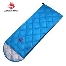 Adult Camping Folding Sleeping Bag Comfortable Eiderdown Soft Nylon Travel Sleeping Bag Ultralight Portable Envelope Style Beds(China)