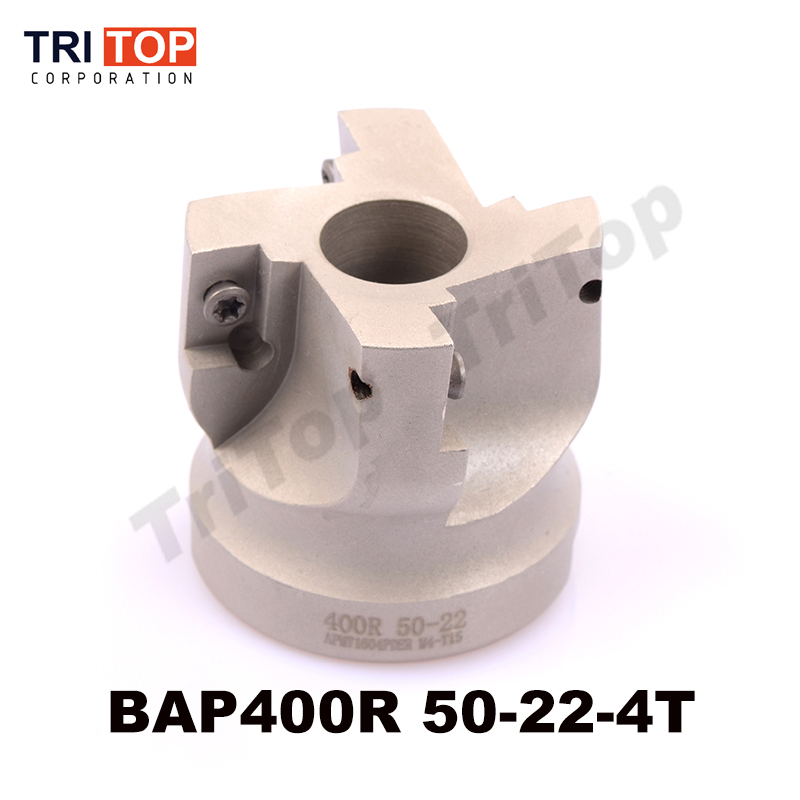 Free Shiping BAP JAP 400R-50-22-4T Milling tool For milling insert APMT1604 Face Mill Shoulder Cutter BAP 400R 50-22-4T<br>