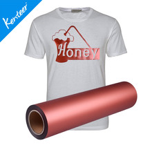 Q1-3 Kenteer Pearl Effect Heat Transfer Vinyl For Clothing Low Price 50cm*25m/Roll