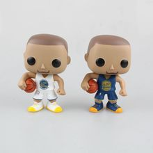 10cm Funko POP Stephen Curry Action & Toy Figures NBA Figure 2k Los Golden State Warriors Collection Model Toy