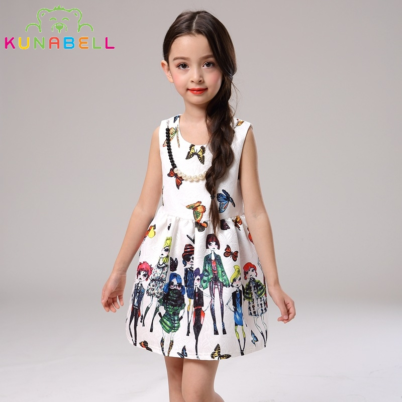 Girl Dress Kids Dresses For party and wedding Cotton Brand Children Dresses Summer Girl Princess Dress Cute Baby Clothing L-113<br><br>Aliexpress