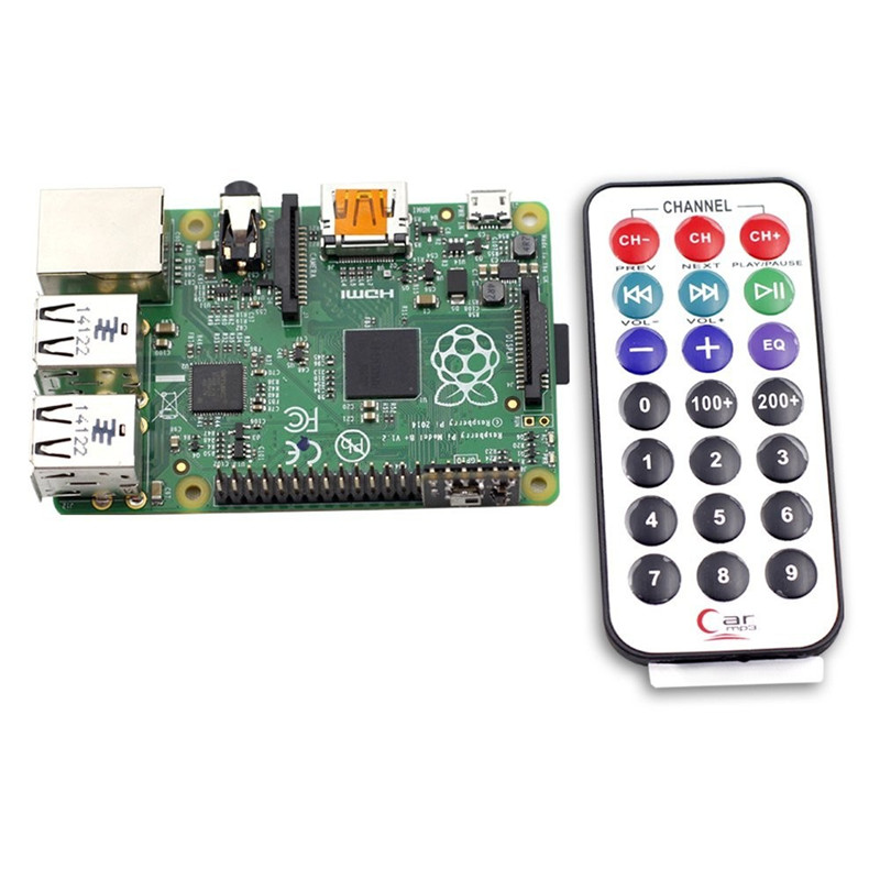 SunFounder Media Remote Control With IR Receiver Module For Raspberry Pi Not included Raspberry Pi &amp; Battery<br><br>Aliexpress