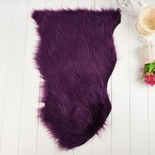 Soft Rug Chair Cover Artificial Advanced Fibers Warm Hairy Carpet Seat Pad New#923(China)