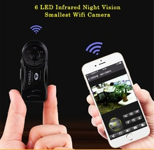 P2P IP Wifi Mini Camera 720P HD Infrared Night Vision Spied Wireless Secret Cam Securtity Nanny Camcorder Espia Candid Pinhole