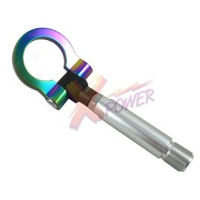 Xpower-NEO CHROME T2 FOR TOYOTA SCION TRD RACING SCREW ALUMINUM CNC TOW TOWING HOOK JDM RACE