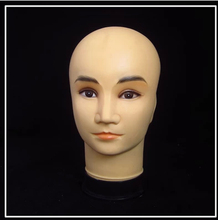 New Fashion Men Plastic Male manikin head Model Sale In Guangzhou(China)