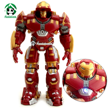 Hulkbuster Super Heroes Avengers Action Figure Marvel Kids Toys 17cm Action Toy Figures Lighting Collectible Toy
