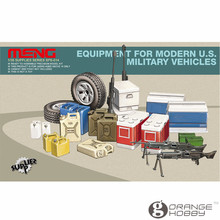 OHS Meng SPS014 1/35 Equipment for Modern U.S. Military Vehicles Assembly figure Accessories Model Building Kits(China)