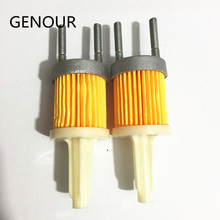 2pcs Diesel GENERATOR Fuel filter for KAMA air-cooled single cylinder diesel engine 170F 173F L48 4HP~5HP 4 Stroke Air Filter(China)