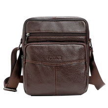 Multifaceted Men Bags Cortex Shoulder Bag Vintage Traveling Small Bags(China)