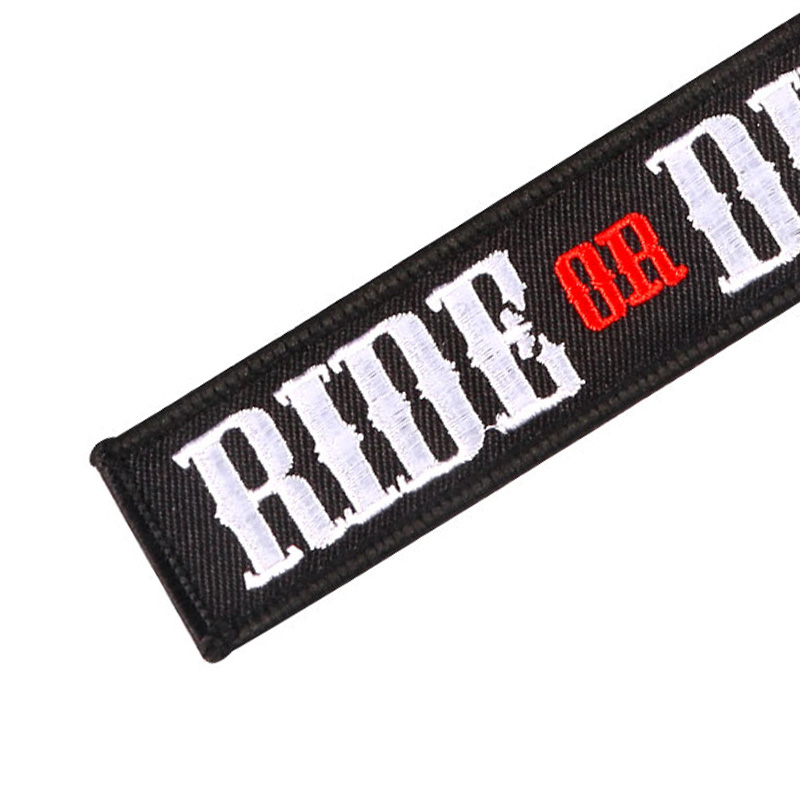 RIDE OR DIE MOTOCYCLE KEYCHAIN2