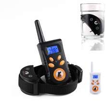 PaiPaitek 500m RC Pet Dog Training Collar Electric Shock Vibration Light Voice Dog Training Device Pet Dog Trainer Small Dogs